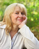 Middle aged woman — Stock Photo
