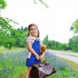 Little traveller — Stock Photo
