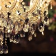 Chrystal chandelier close-up — Stock Photo #19144217