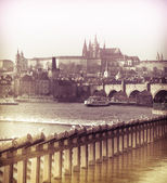 View of Prague Castle — Stock Photo