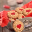 Christmas cookies in the box — Stock Photo #35584557