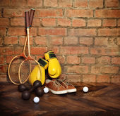 Spor malzemeleriequipo de deportes — Foto de Stock