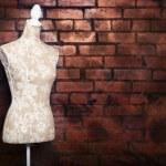 antika klä formen med vintage look — Stockfoto