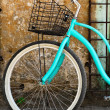 Vintage bicycle with basket  — Stock Photo #41633399