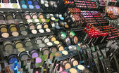 Cosmetics shop with great variety of products — Stock Photo