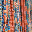 Ethnic beads — Stock Photo