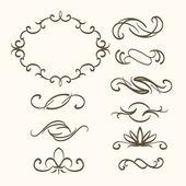 Vintage design prvky — Stock vektor