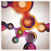 Colorful abstract circle. — Stock Vector