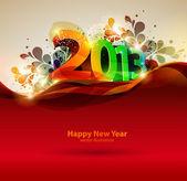 Feliz ano novo 2013 — Vetorial Stock