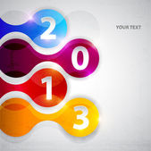 Happy new year 2013 — Stockvektor