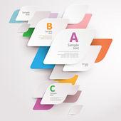 Modern colorful design — Stock Vector