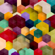 Cтоковый вектор: Abstract colorful background