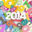 Vector de stock : New year 2014