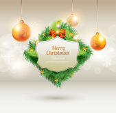 Bannière de Noël — Vecteur