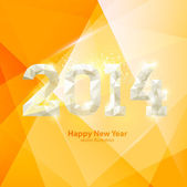 New year 2014 design — Stock Vector