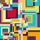 Abstrait rétro — Vecteur