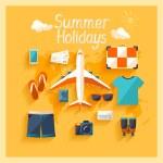 Summer holiday. — Stock Vector #49664325