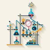 Chemistry infographic. — Wektor stockowy