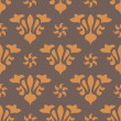 Seamless vintage pattern — Stock Vector