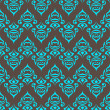 Seamless curve pattern with a frash color — Imagen vectorial