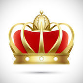 Crown — Vector de stock