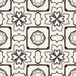 Seamless geometric pattern. Vector repeat — Imagen vectorial