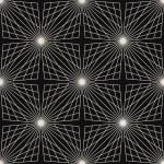Seamless monochrome pattern.Geometric vector texture — Stock Vector #27645617