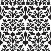 Seamless vintage pattern. Monochrome vector texture — Stock Vector