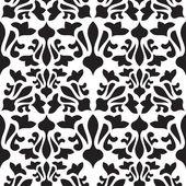 Patrones vintage sin fisuras. textura vector monocromo — Vector de stock