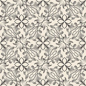 Seamless hand draw pattern. Vector repeat texture — Cтоковый вектор