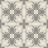 Seamless pattern regular texture. Monochrome array texture — Stock Vector
