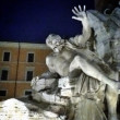 Piazza  Navona famous square in Rome — Stock Photo