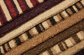 Samples of carpet — Stock Photo