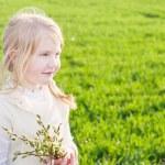 Smile girl outdoor — Stock Photo #18610555