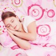 Sleeping girl — Stock Photo #22615687