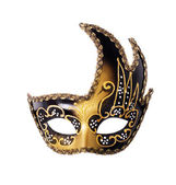 Carnival mask on a white background — Stock Photo