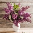 Vintage still life with lilac — Stock Photo #25936281