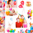 Children birthday — Stock Photo #26605153