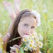 Stock Photo: Beautiful girl outdoor