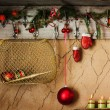 Vintage christmas decoration — Stock Photo #32819099