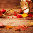 Autumn still life — Stock Photo #34065089