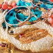 Collection of various jewellery — Stock Photo #39882667