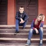 Jugendliche im freien — Stockfoto
