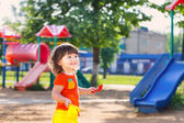 Child on playground — Stock Photo
