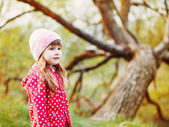 Beautiful child outdoor — Stock Photo