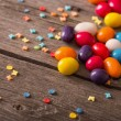 Colorful sweets heap — Stock Photo #48631151