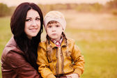 Woman and child — Stock Photo