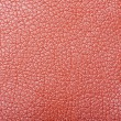 Royalty-Free Stock Photo: Sample of orange leather upholstery
