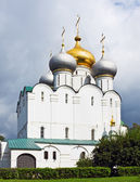 Cathedral of the Smolensk Icon of Our Lady of the Novodevichy Co — Stock Photo