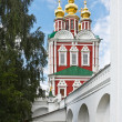Gate tower of Novodevichy Convent, Moscow - Stock Photo